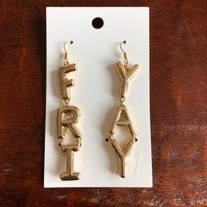 {H&M} Fri-Yay Earrings
